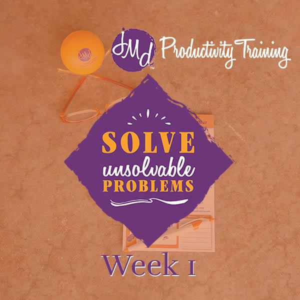 Solve Unsolvable Problems December 2020 Week 1